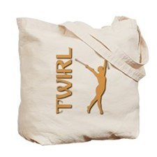 TWIRL (both sides) Tote Bag