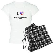 I love West Alexandria Ohio Pajamas