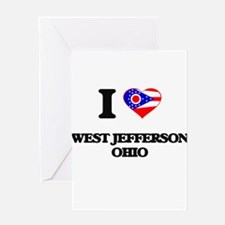 I love West Jefferson Ohio Greeting Cards