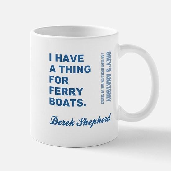 FERRY BOATS Mugs