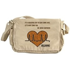 ITS A BEAUTIFUL... Messenger Bag