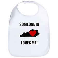 Someone In Kentucky Loves Me Bib