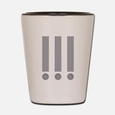 Exclamation Point Shot Glass