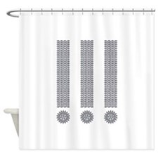 Exclamation Point Shower Curtain
