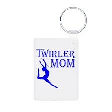 TWIRLER MOM (both sides) Keychains