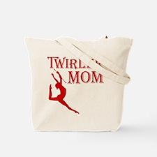 TWIRLER MOM (both sides) Tote Bag