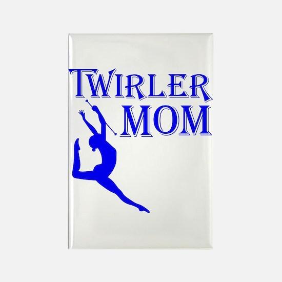 TWIRLER MOM Rectangle Magnet