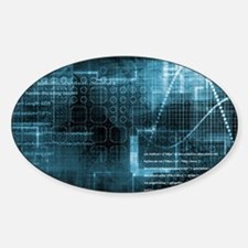 Internet Concept Sticker (Oval)
