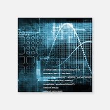 """Internet Concept Square Sticker 3"""" x 3"""""""
