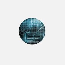 Internet Concept Mini Button