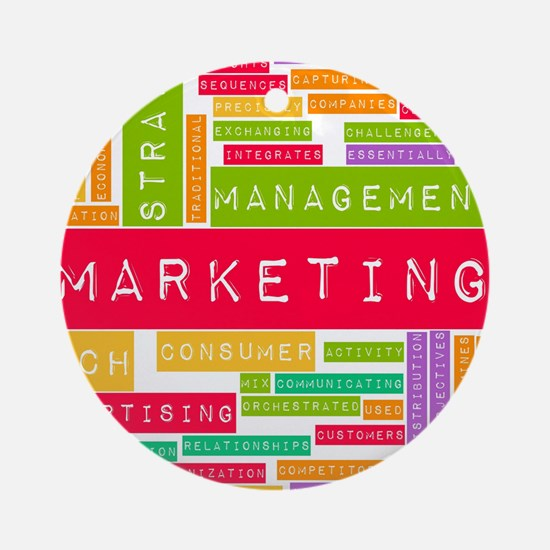 Branding and Marketing Ornament (Round)