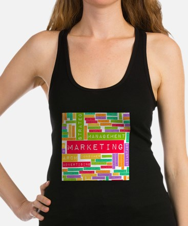 Branding and Marketing Racerback Tank Top