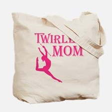 TWIRLER MOM (both sides) Tote Bag