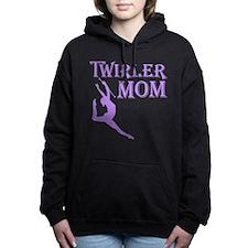 TWIRLER MOM Women's Hooded Sweatshirt