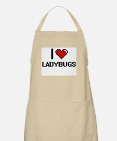 I love Ladybugs Digital Design Apron