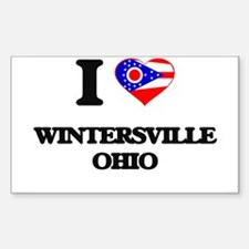 I love Wintersville Ohio Decal