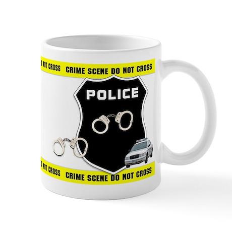 Police Crime Scene Mug