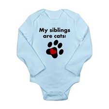 My Siblings Are Cats Body Suit