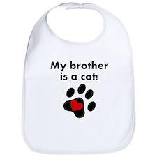 My Brother Is A Cat Bib