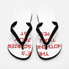 pessimist Flip Flops