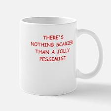 pessimist Mugs
