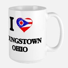 I love Youngstown Ohio Mugs