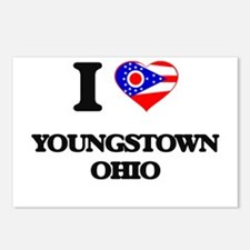 I love Youngstown Ohio Postcards (Package of 8)