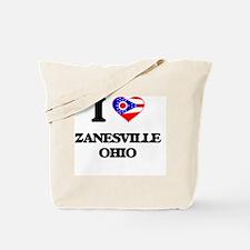 I love Zanesville Ohio Tote Bag