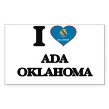 I love Ada Oklahoma Decal