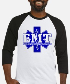 star of life - blue EMT word.png Baseball Jersey