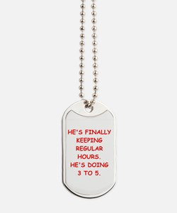 ex husband Dog Tags