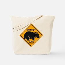 Wombat Zone Tote Bag