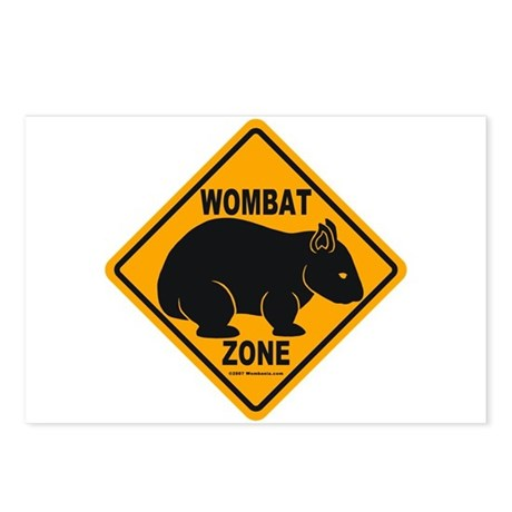 Wombat Zone Postcards (Package of 8)