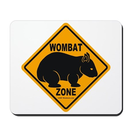 Wombat Zone Mousepad
