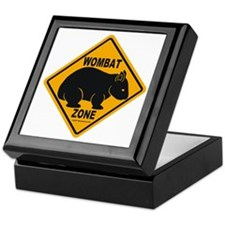 Wombat Zone Keepsake Box