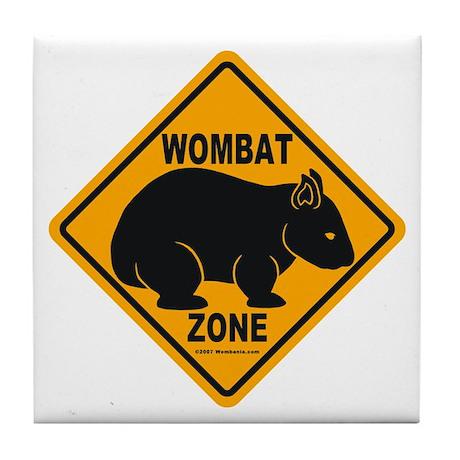 Wombat Zone Tile Coaster