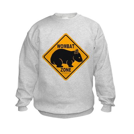 Wombat Zone Kids Sweatshirt