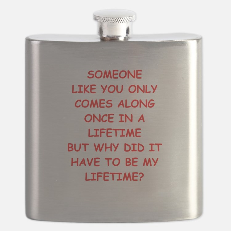 once in a lifetime Flask