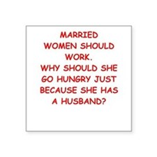 married Sticker