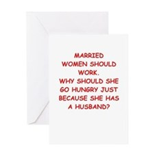 married Greeting Cards