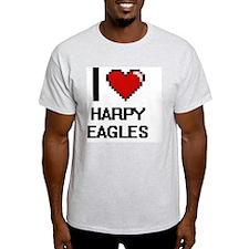 I love Harpy Eagles Digital Design T-Shirt