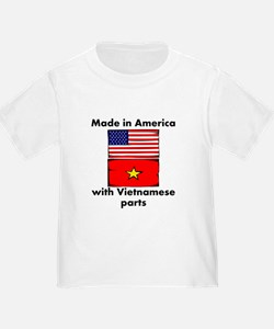 Made In America With Vietnamese Parts T-Shirt