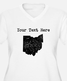 Ohio Silhouette (Custom) Plus Size T-Shirt
