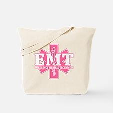 Pink EMT Tote Bag