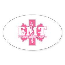 Pink EMT Decal