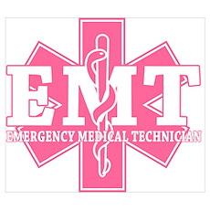 Pink EMT Poster