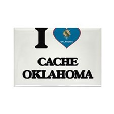 I love Cache Oklahoma Magnets