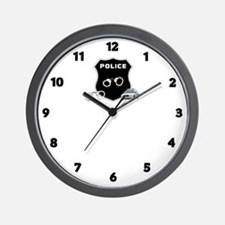 Police Crime Scene Wall Clock