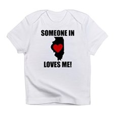 Someone In Illinois Loves Me Infant T-Shirt