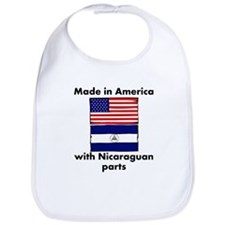 Made In America With Nicaraguan Parts Bib